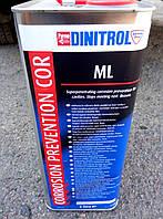Антикоррозионная жидкость для ржавых поверхностей  DINITROL ML   5л