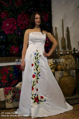 Весільні сукні в українському стилі 2