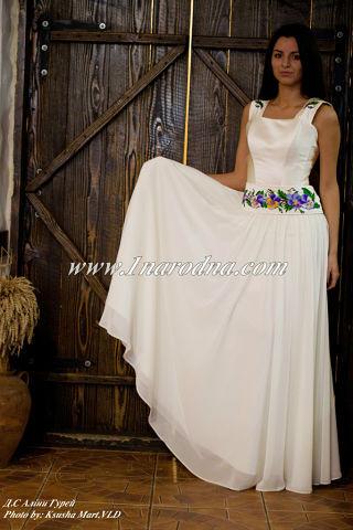 Весільні сукні в українському стилі 3