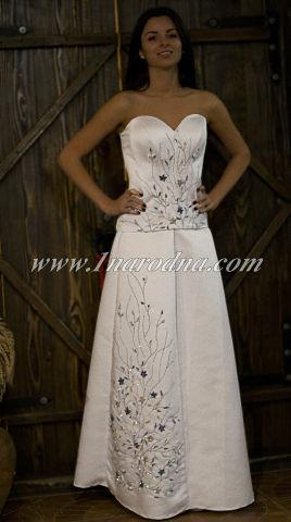 Весільні сукні в українському стилі 4