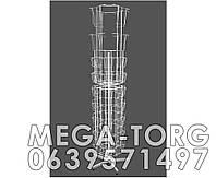Открыточная вертушка комбинированная. ( Высота 196 см. Диаметр окружности  46 см. )