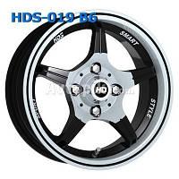 Литые диски HDS 19 R13 W5.5 PCD4x98 ET20 DIA58.6 (CA-BW6)