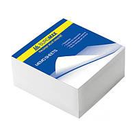 Блок бумаги для заметок BuroMax 80х80мм 330 листов белый не склеенный