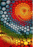 Ковёр Kolibri цветные спирали