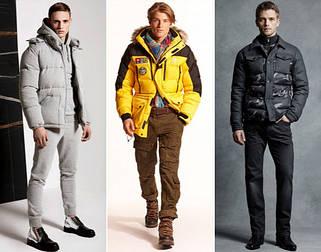 Мужские куртки парки