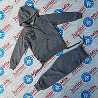 Модные подростковые спортивные утеплённые костюмы с начёсом  для мальчиков оптом BBW