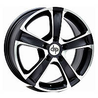 Литые диски D&P DP140 R17 W7.5 PCD5x114.3 ET40 DIA73.1 (black machined face)