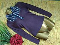 Джемпер Кембридж 8821 фиолетовый 42-46р