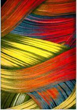 Ковёр Kolibri цветные полоски 1.20х1.70 м.