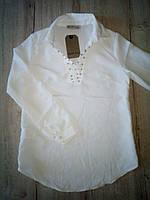 Детская блузка для девочки 13841 Турция школьная форма