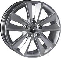 Литые диски Replica Renault (RN33) R16 W6.5 PCD5x108 ET45 DIA60.1 (silver)