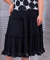 Женская свободная юбка миди (Алина tn)
