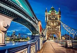 "Кастор пазлы 2000 "" Тауэрский мост в Лондоне,""92*68 /14/"