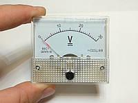 Вольтметр стрелочный (аналоговый) DC 0В - 30В