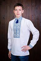 """Подростковая рубашка для мальчика с вышивкой """"Иванко"""""""