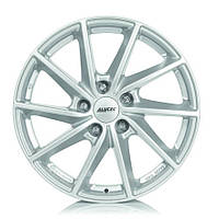 Литые диски Alutec Singa R15 W6 PCD4x100 ET39 DIA56.6 (diamond black front polished)