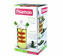 Бутылочка из стекла 50/350мл для масла и уксуса 2-в-1 Fissman, фото 2