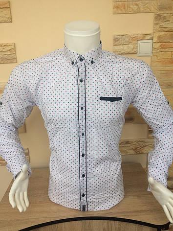 Рубашка длинный рукав BORЯEGO, фото 2