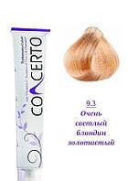 Concerto Крем-краска с кератином 9.3 Очень светлый золотистый блондин, 100 мл