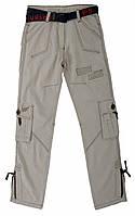 Стильные Летние брюки, штаны на мальчика подростка Cocky 12-17 лет