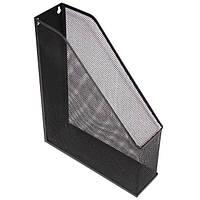 Вертикальный лоток Optima металлическая сетка черный