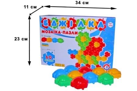 Мозаика-пазлы Пчелка 60 Технок /5/ - Гугудиди в Днепре