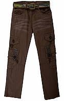Модные летние брюки, штаны на мальчика подростка Cocky 9-16 лет