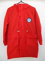 Стильная подростковая демисезонная куртка Best Boy Army красного цвета