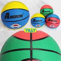 Мяч баскетбольный BT-BTB-0003 резиновый, размер 7 500г ш.к./50/