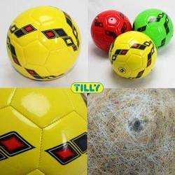 Мяч футбольный BT-FB-0035 PVC 350г 3цв.ш.к./60/