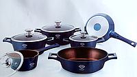 Набор посуды Royalty Line MS-1010 DB 10 предметов, фото 1