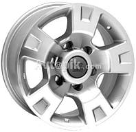 Литые диски WSP Italy Nissan (W1808) Salina 4x4 R17 W8 PCD6x139.7 ET10 DIA110.1 (silver polished)