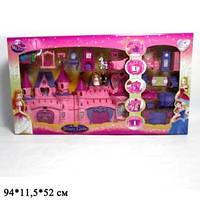 Замок SG-2912N с мебелью, куклами, каретой муз.свет.кор.94*11,5*52 ш.к./4/