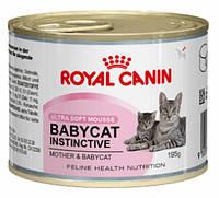 Royal Canin Babycat Instinctive Консерва для котят, 195г