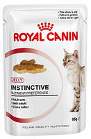 Royal Canin Instinctive in Jelly Влажный корм для кошек старше 1 года, 85г