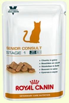 Влажный корм Royal Canin (Роял Канин) Senior Consult Stage 1 для кошек старше 7 лет, 100гx12 шт