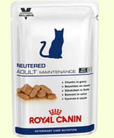 Royal Canin Neutered Adult Maintenance Wet Консерва для кастрированных кошек и котов возрастом до 7 лет, 100г