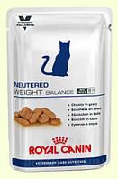 Royal Canin Neutered Cat Weight Balance Wet Консерва для стерилизованных кошек с избыточным весом возрастом до 7 лет, 100г
