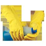 Перчатки латексные защитные