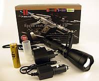 Тактический фонарь Bailong BL-1892-T6 50000W