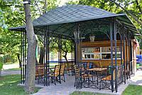 Альтанка кована з металу паркова, фото 1