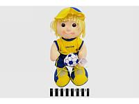 Футболист мягкий муз. Украина 35 см п/э /96/