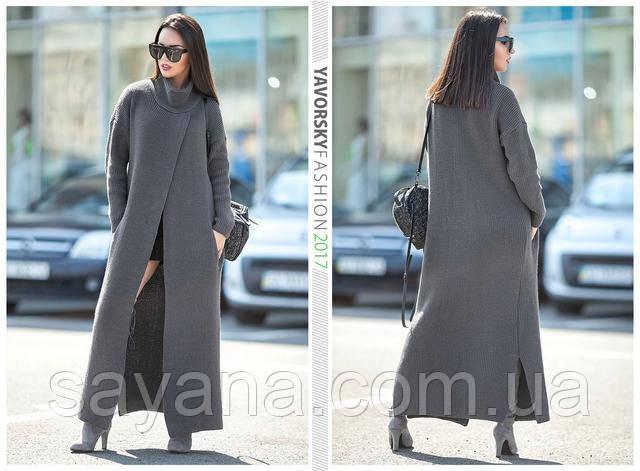 классное пальто кардиган