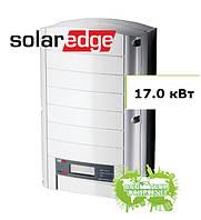 SolarEdge SE 17k солнечный сетевой инвертор (17,0 кВт, 3 фазы)
