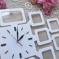 Часы с фото белые, фото 1