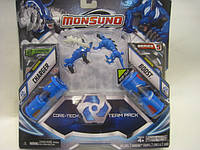 Набір для битви на 2 гравця Monsuno Core-Tech CHRGER і BOOST (Сombat 2-Packs) W5 (2 фігурки, 2 капсу