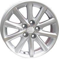 Литые диски Replica Toyota (TY237) R17 W7.5 PCD5x114.3 ET45 DIA60.1 (silver)