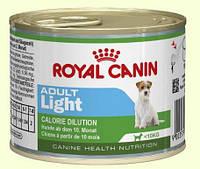 Royal Canin Adult Light Консерва для собак мелких пород со склонностью к избыточному весу, 195г