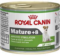 Royal Canin Mature +8 Консерва для стареющих собак мелких пород, 195г
