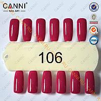 Гель лак Canni 106, фото 1